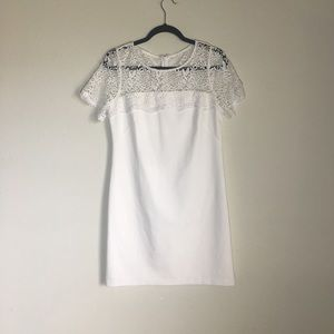 Jessica Simpson White Lace Dress